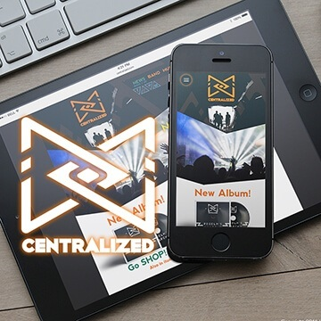 Webdesign Homepage Website Logo Design Centralized